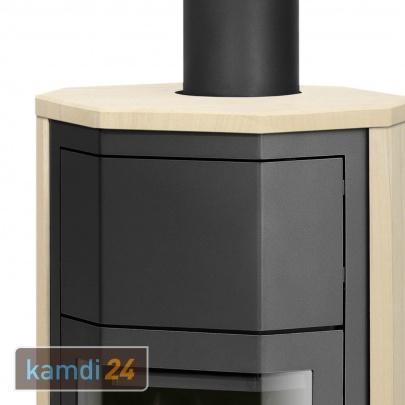 justus usedom 5 w rmeplus kaminofen stahl schwarz speckstein 5 kw kamin ofen ebay. Black Bedroom Furniture Sets. Home Design Ideas