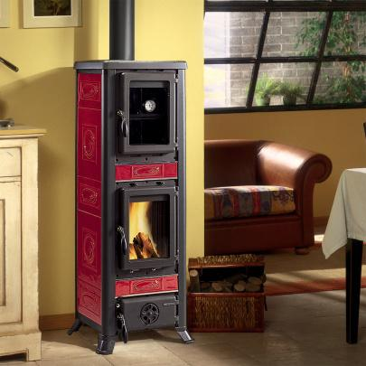 kaminofen la nordica fulvia forno liberty bordeaux 6 kw dresden. Black Bedroom Furniture Sets. Home Design Ideas