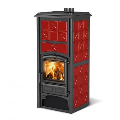 kaminofen wasserf hrend la nordica loriet s bordeaux dsa 16 8 kw eek a ebay. Black Bedroom Furniture Sets. Home Design Ideas