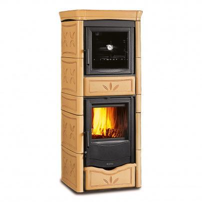kaminofen wasserf hrend la nordica termonicoletta cappuccino forno eek a ebay. Black Bedroom Furniture Sets. Home Design Ideas