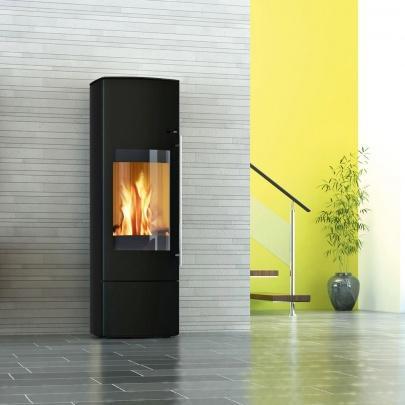 kaminofen wasserf hrend nevado aqua compact komplett set 8 kw ebay. Black Bedroom Furniture Sets. Home Design Ideas