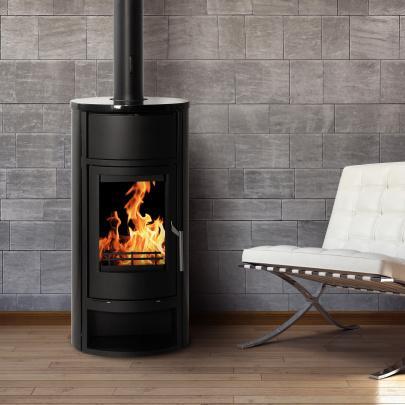 kaminofen wasserf hrend schmitzker faro h2o blackline 8 kw eek a ebay. Black Bedroom Furniture Sets. Home Design Ideas