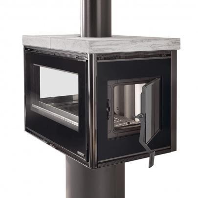 la nordica astrid speckstein kaminofen 9 2 kw kamin ofen holzofen eek a ebay. Black Bedroom Furniture Sets. Home Design Ideas