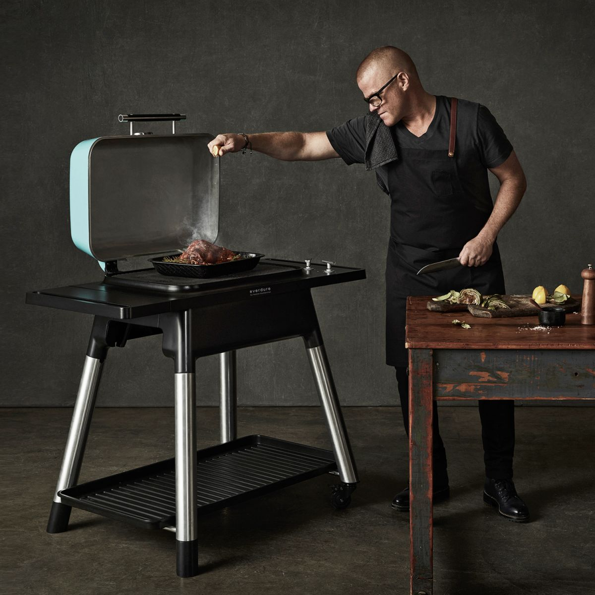 Gasgrill FORCE von Everdure by Heston Blumenthal