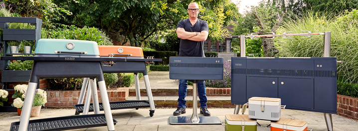 Gasgrills von Everdure by Heston Blumenthal