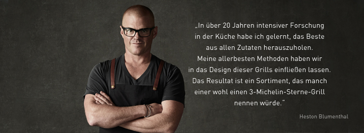 Everdure by Heston Blumenthal Zitat