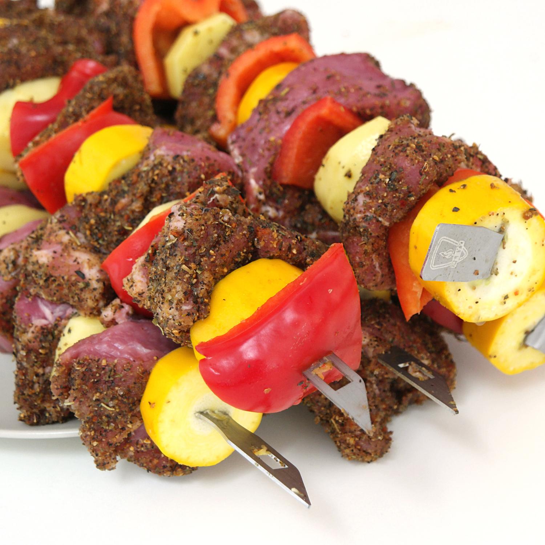 Plett Grill Grillspieße mit BBQ-Rubs