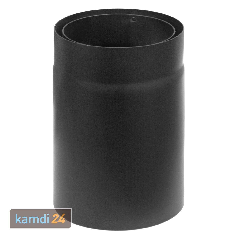 Rauchrohr Senotherm schwarz Ø150 mm Länge 1000 mm Ofenrohr