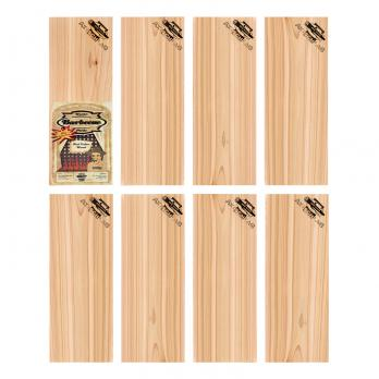 Axtschlag Wood Plank Rotzeder BBQ Party Pack 8er Set