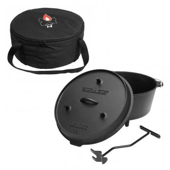 Camp Chef Deluxe Dutch Oven DO-14 + Tragetasche