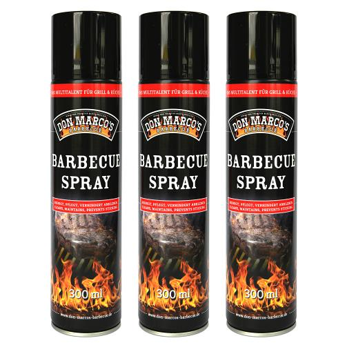 Don Marco´s Barbecue Spray 3er-Set