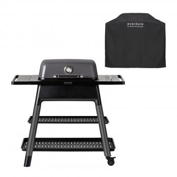 Everdure FORCE™ Gasgrill Graphite + Abdeckhaube