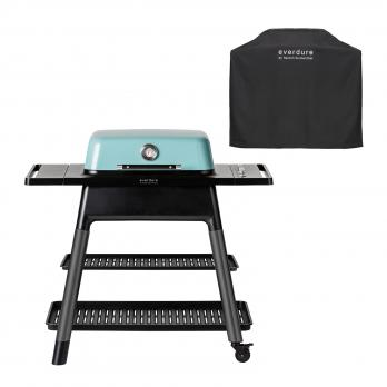 Everdure FORCE™ Gasgrill Mint + Abdeckhaube