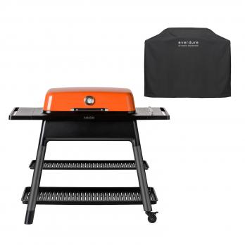Everdure FURNACE™ Gasgrill Orange + Abdeckhaube