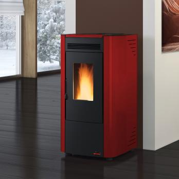 Extraflame Ketty EVO Pelletofen Bordeaux