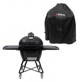 "Primo Keramik Grill Oval 300 Large ""All in One"" + Abdeckung"