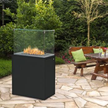 Spartherm Fuora QXL Outdoor-Kamin Nero