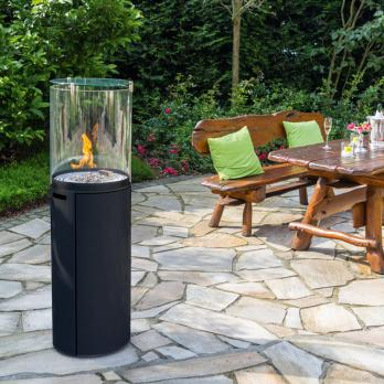 Spartherm Fuora R Outdoor-Kamin Nero