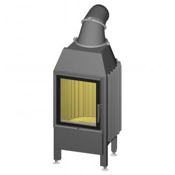 Spartherm Mini Z1-4S Kamineinsatz 10 kW 51 cm links