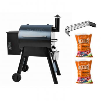 Traeger PRO SERIES 22 + Grillrost + 2x Hickory Pellets