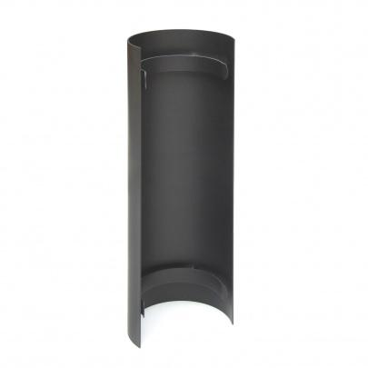 rauchrohr ofenrohr 120mm thermoschild 460mm gussgrau dn120 kaminrohr ofen. Black Bedroom Furniture Sets. Home Design Ideas