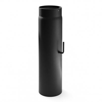 rauchrohr ofenrohr 200mm 500mm mit zugregulierung. Black Bedroom Furniture Sets. Home Design Ideas