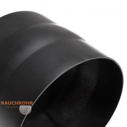 rauchrohr ofenrohr 200mm adapter schwarz dn200 kaminrohr ofen rohr ebay. Black Bedroom Furniture Sets. Home Design Ideas