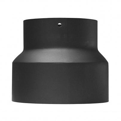 rauchrohr ofenrohr reduzierung 160mm 150mm schwarz kaminrohr ofen rohr ebay. Black Bedroom Furniture Sets. Home Design Ideas
