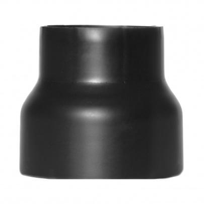 rauchrohr ofenrohr reduzierung 200mm 160mm schwarz kaminrohr ofen rohr ebay. Black Bedroom Furniture Sets. Home Design Ideas